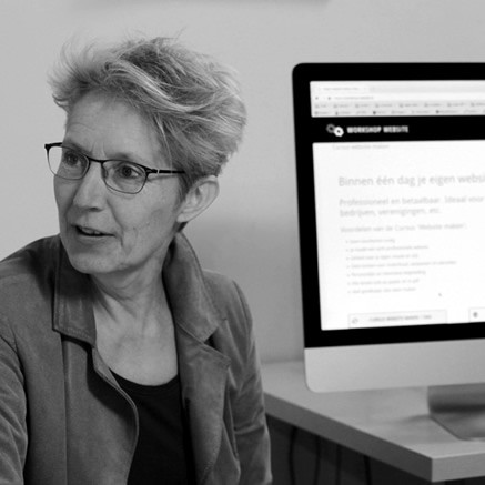 Cursus wordpress website Charlotte Maas
