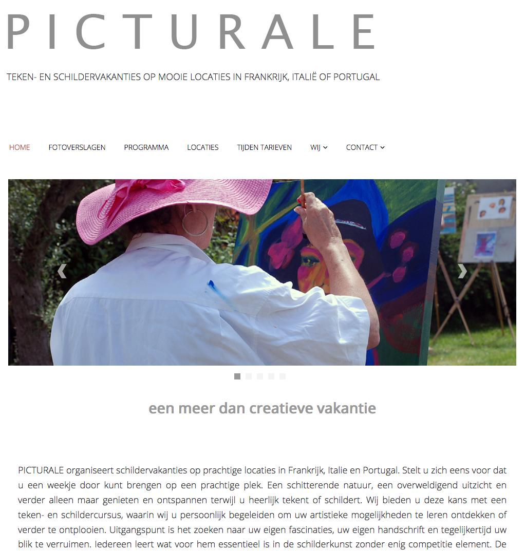 Website schilder- en tekenlessen