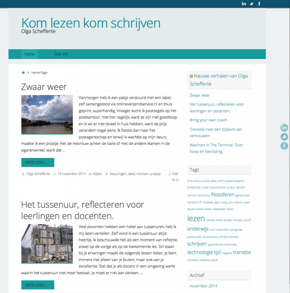 olgaschefferlie website