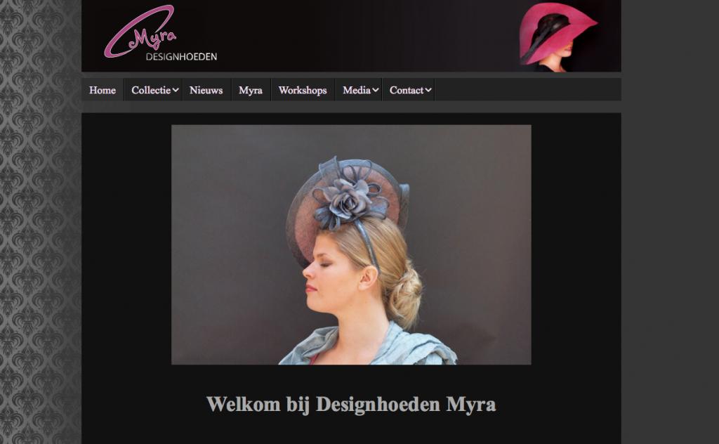 website designhoeden myra van de korput