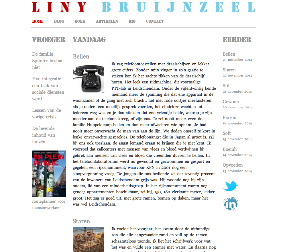website liny-bruijnzeel