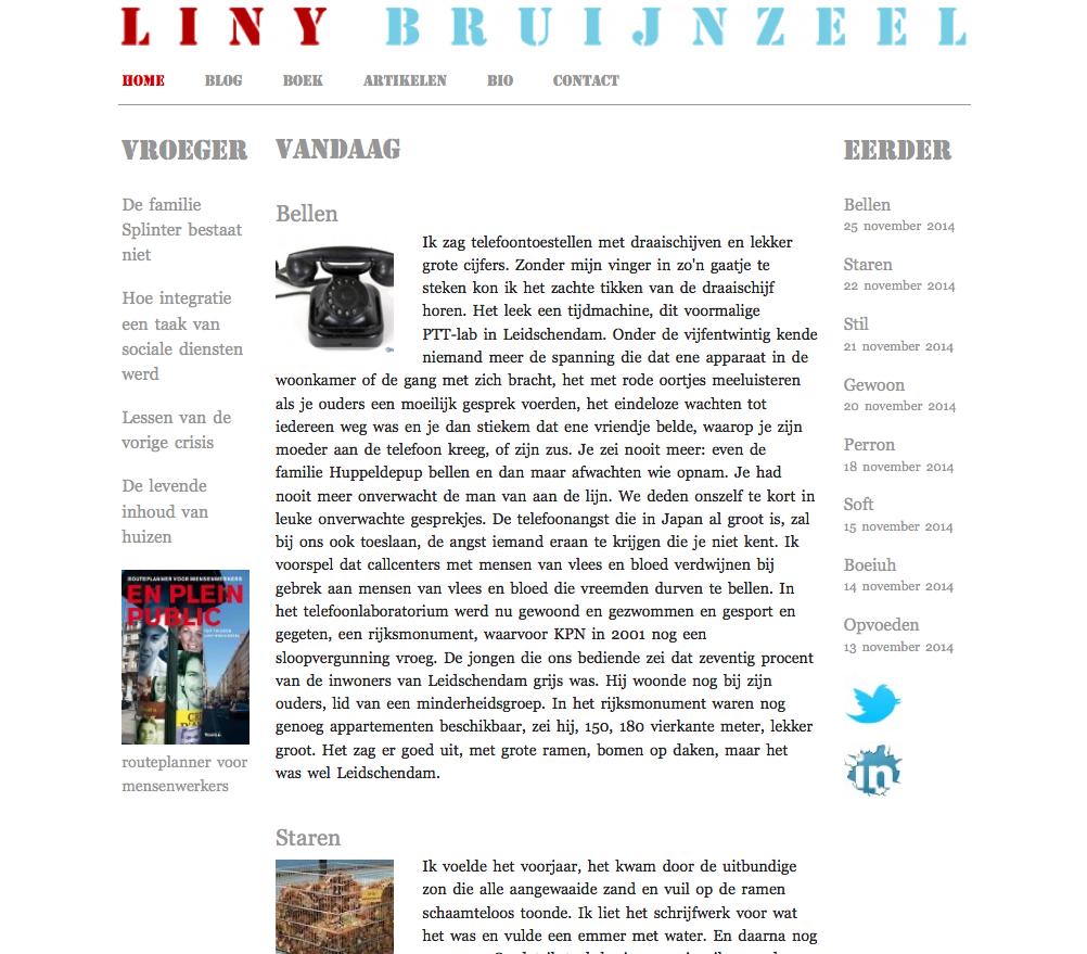 website liny-bruijnzeel