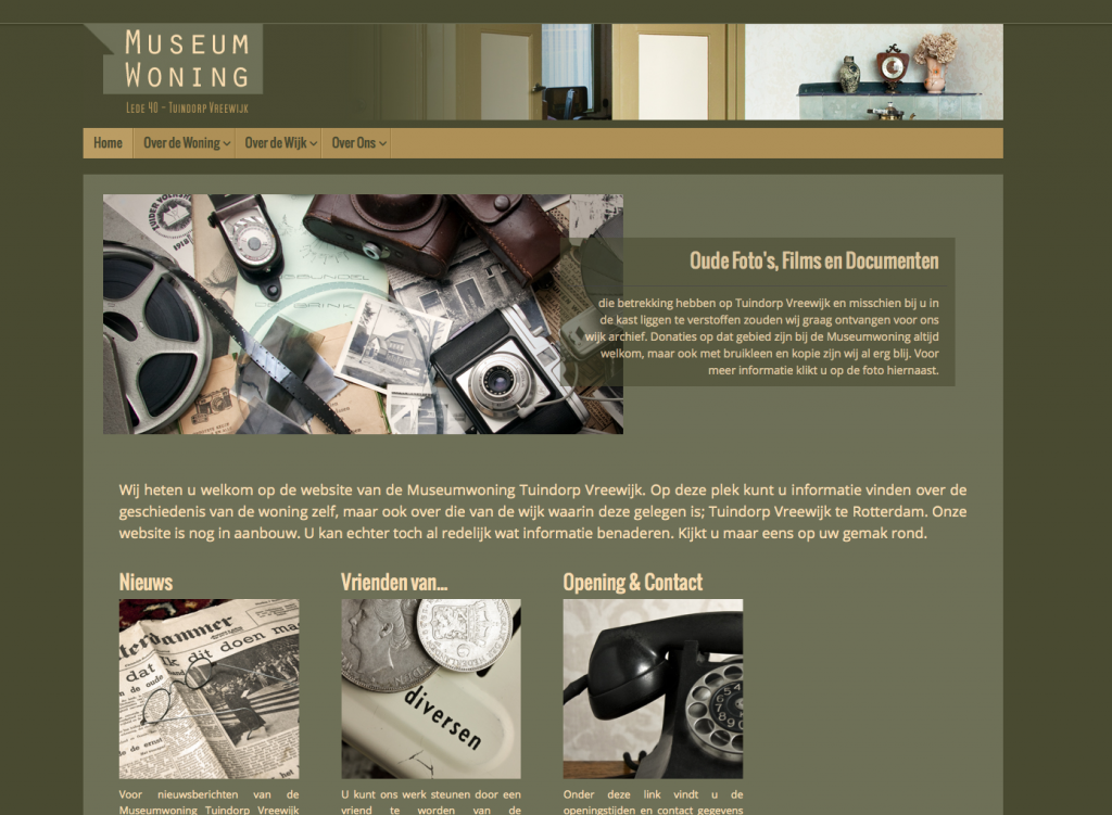 website museumwoning