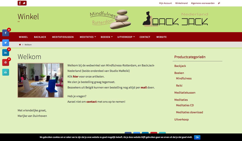 Webwinkel mindfulness materialen