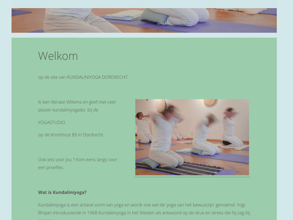 Website Yogaschool