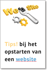 Tips bij opstarten website - kaftje
