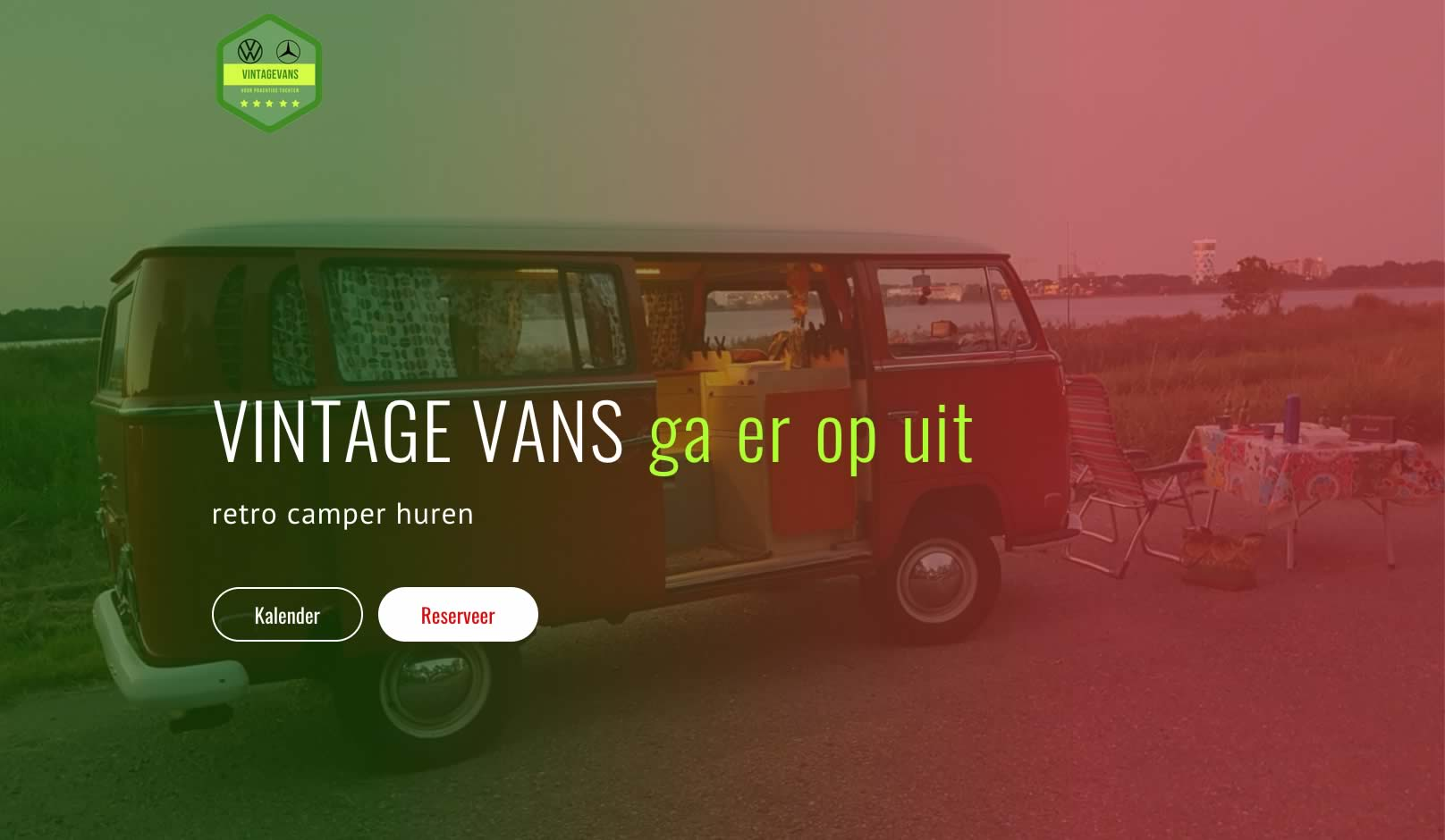 website retro camper huren