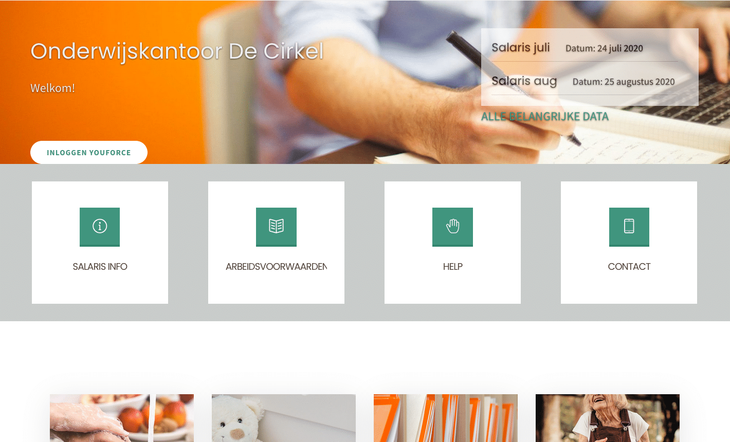 Website onderwijskantoor